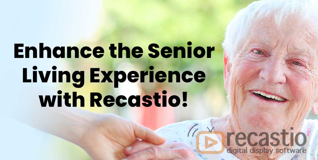 Senior Living Information Display