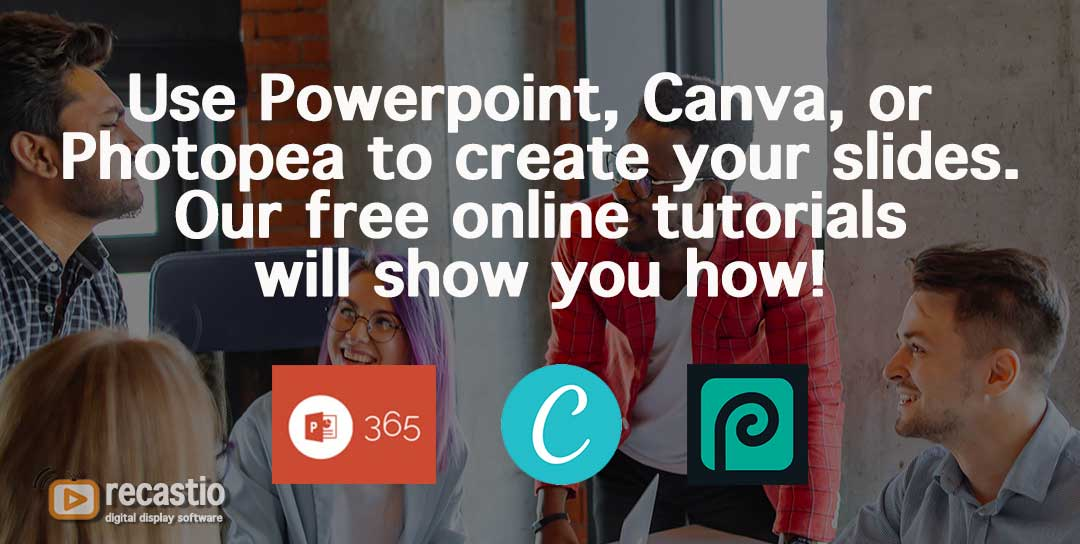 create TV slideshow easily
